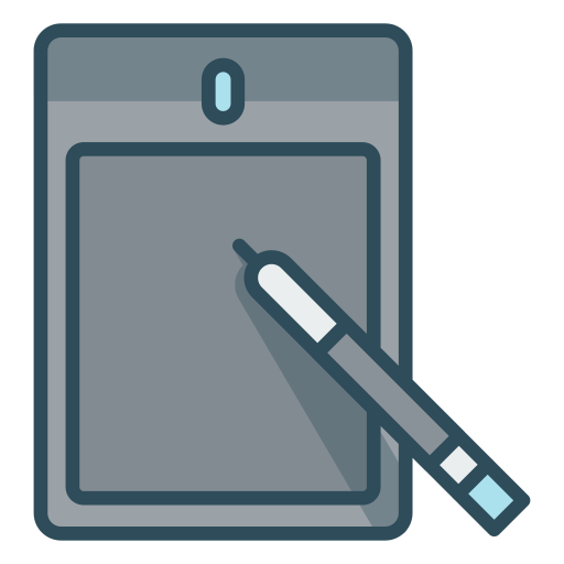Sketch-pad icon