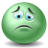 http://icons.iconarchive.com/icons/visualpharm/green-emo/48/sad-icon.png