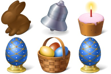 Happy Easter Icons
