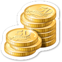 http://icons.iconarchive.com/icons/visualpharm/magnets/128/coins-icon.png