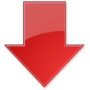 Stock Index Down icon
