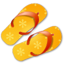 flip flops icon