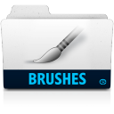 Brushes folder icon