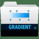 gradient folder icon