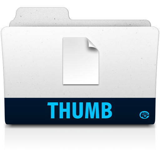 Thumb-folder icon