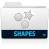 Shapes-folder icon