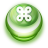 Button Green Commandkey icon