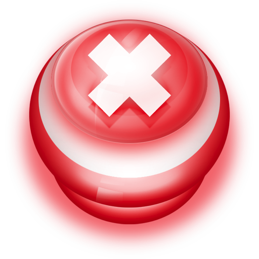 Button-Red-Cancel icon