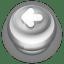 Button Grey Arrow Left icon