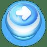 Button-Blue-Arrow-Right icon