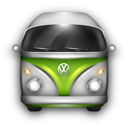 VW Bulli Green White icon