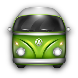 VW Bulli Green icon