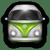 VW-Bulli-Green-White icon