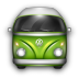 VW-Bulli-Green icon