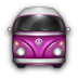 VW-Bulli-Purple icon