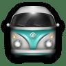 VW-Bulli-Blue-White icon