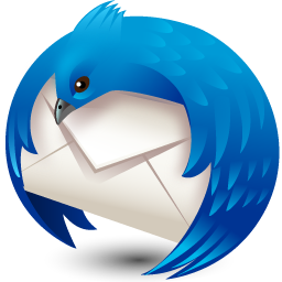 thunderbird icon 3d softwarefx iconset wallpaperfx