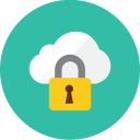Locked Cloud icon