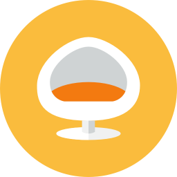 Chair 4 icon