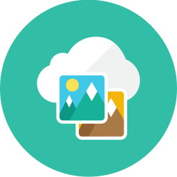 Images Cloud icon