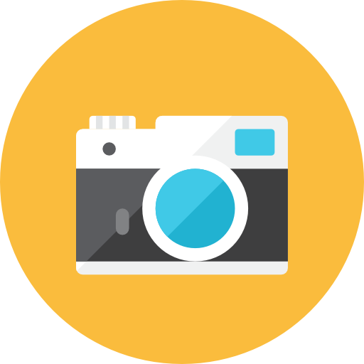 Camera Front Icon | Kameleon Iconset | Webalys