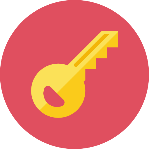 Key Icon | Kameleon Iconset | Webalys