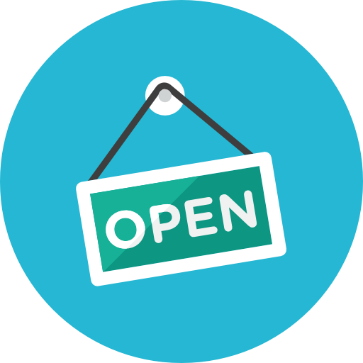 Open-Sign icon
