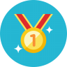 http://icons.iconarchive.com/icons/webalys/kameleon.pics/96/Medal-2-icon.png