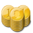 Gold-Coin-Stacks icon
