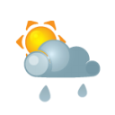 sun darkcloud heavyrain icon