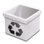 Trash milk empty icon
