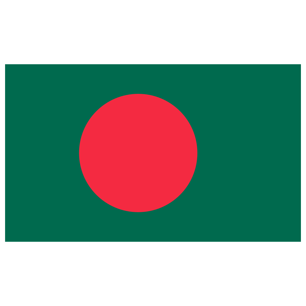 Bangladesh Flag Square