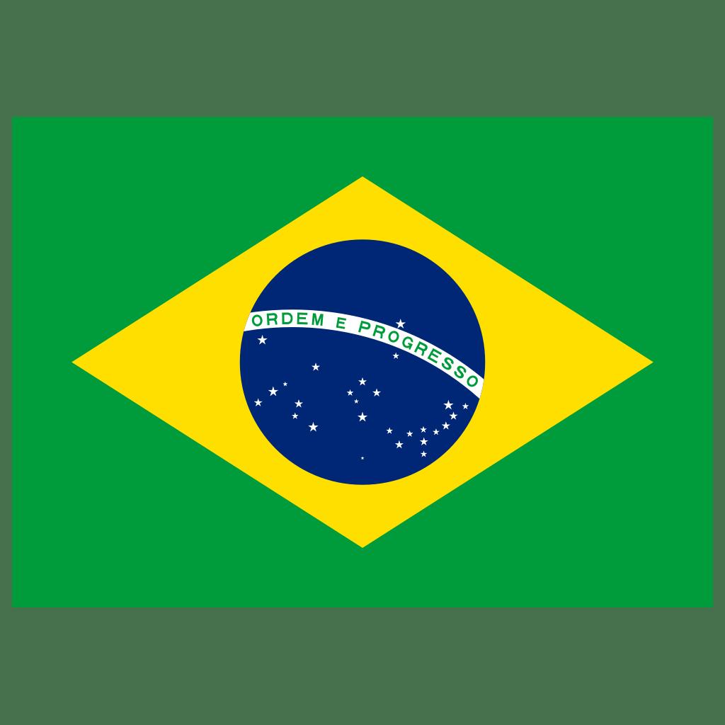 BR Brazil Flag Icon   Public Domain World Flags Iconset ...