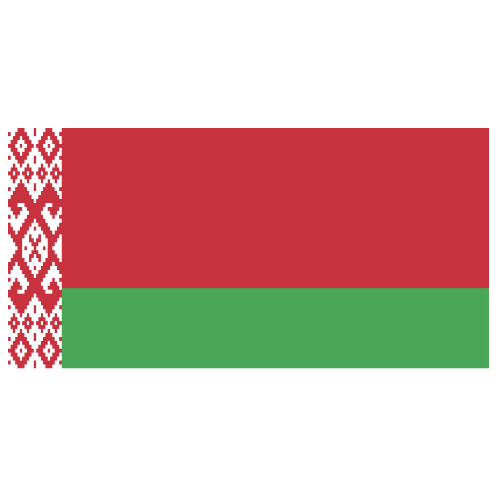 BY Belarus Flag Icon | Public Domain World Flags Iconset