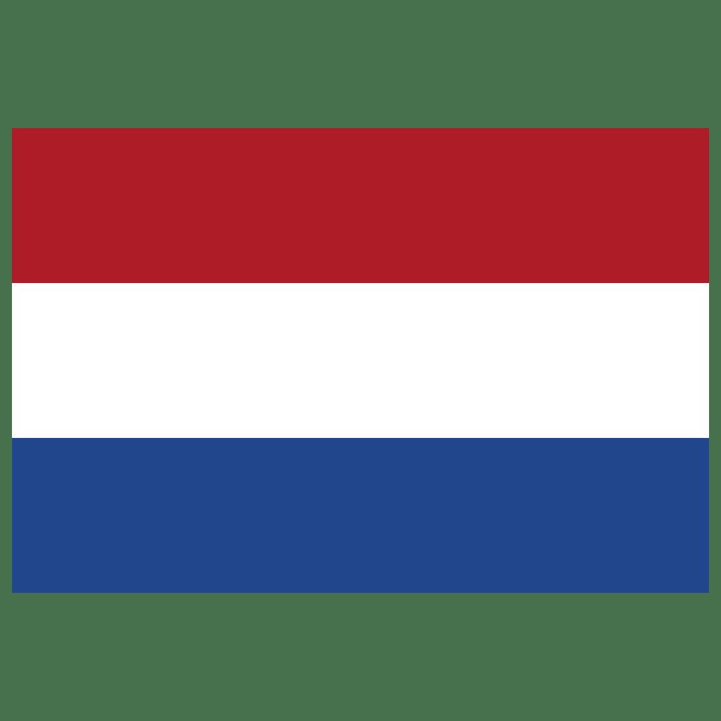 Nl Netherlands Flag Icon Public Domain World Flags