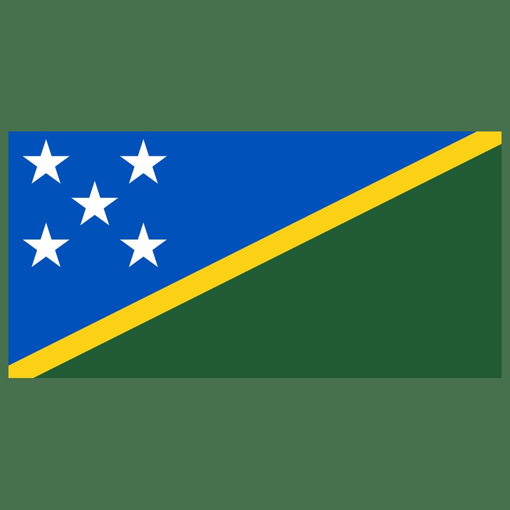 SB Solomon Islands Flag Icon   Public Domain World Flags Iconset