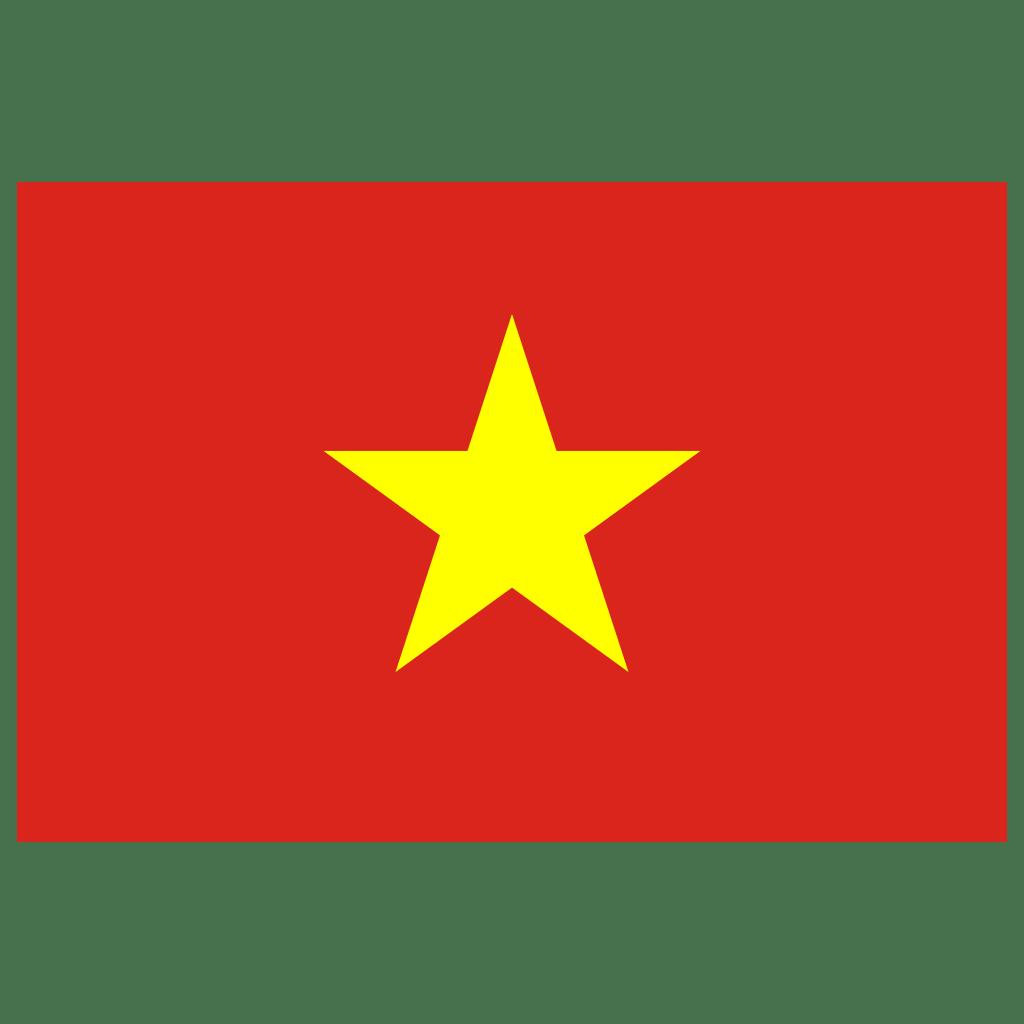 VN Vietnam Flag Icon   Public Domain World Flags Iconset ...