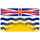 CA BC British Columbia Flag icon