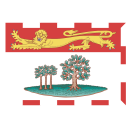 CA PE Prince Edward Island Flag icon