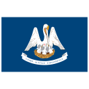 US LA Louisiana Flag icon