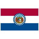 US MO Missouri Flag icon