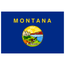 US MT Montana Flag icon