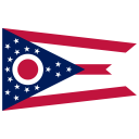 US OH Ohio Flag icon