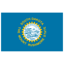 US SD South Dakota Flag icon