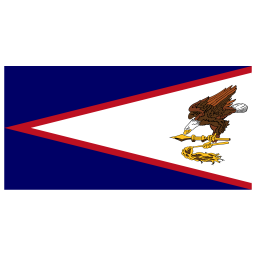 AS American Samoa Flag icon