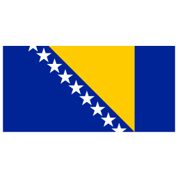 BA Bosnia and Herzegovina Flag icon