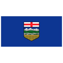 CA AB Alberta Flag icon