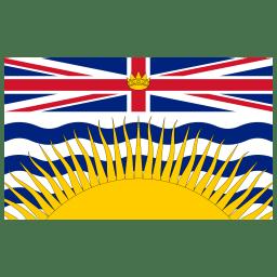 CA BC British Columbia Flag icon