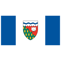 CA NT Northwest Territories Flag icon