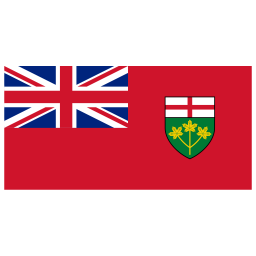 CA ON Ontario Flag icon